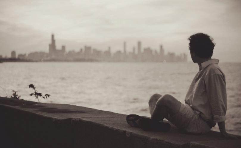 city-man-person-skyline